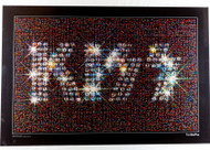 KISS Poster - Photo Mosaic, KISS Logo