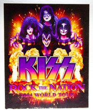KISS Poster - Rock the Nation sparks