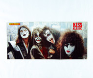 KISS Poster - Metal Muscle magazine 3 page pull-out