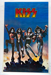KISS Poster - Destroyer album artwork, 1976