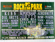 KISS Poster - MTV Rock Park Nuremberg Germany 1997