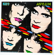 KISS Poster - Asylum album cover, (folded)