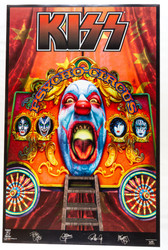 KISS Poster - Psycho Circus, retail