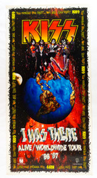 KISS Poster - I Was There 1996