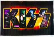 KISS Poster - Band in Logo, 1996