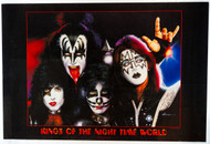 KISS Poster - Kings of the Nigh Time World, by Shannon
