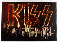 KISS Poster - Unmasked Live on Stage, (modern printing)