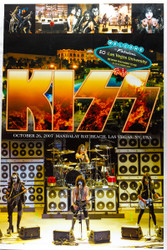 KISS Poster - Madalay Bay Las Vegas, 2007