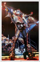 KISS Poster - Alive II Gene Simmons