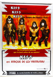 KISS Poster - Attack of the Phantoms, Brazil, (reproduction)