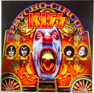 KISS Poster - Psycho Circus Album Cover, (double sided)