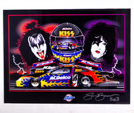 KISS Poster - Kurt Johnson AC Delco
