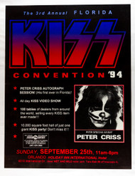 KISS Poster - Florida KISS Convention 1994