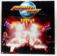 KISS Autograph - Ace Frehley signature on Frehley's Comet poster