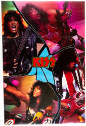 KISS Poster - Crazy Nights Collage 1988
