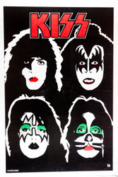 KISS Poster - Dynasty Blacklight, 1995 printing