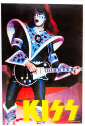 KISS Poster - Ace Dynasty w/Yellow Logo, 1990