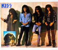 KISS Poster - Hot in the Shade, Wall, (1/2 inch tear, 6/10)