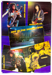 KISS Poster - Hot in the Shade, magazine poster, (folded, 7/10)