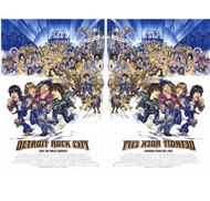 KISS Poster - Detroit Rock City Movie Poster, (Double-Sided Reverse-Print)