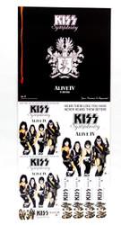 KISS Promo Flat - KISS Symphony, Australia, (dent, 8/10)