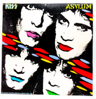 KISS Poster - Asylum album cover, (tack holes, 6/10)