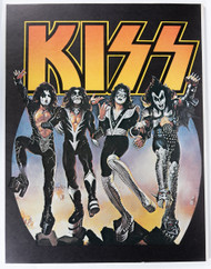 "KISS Poster - Destroyer, small carnival '70s, 17"" x 22"", (mounted)"