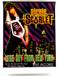 Richie Scarlett Poster - Store CD ad, 1997