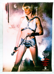Wendy O Williams Poster - Store promo, Produced by Gene Simmons 1984