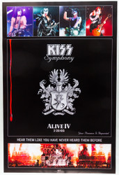 KISS Poster - Symphony 2003