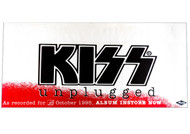 KISS Poster - Unplugged store promo strip, 1995