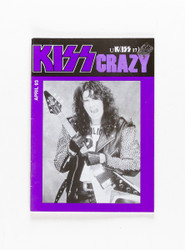 KISS Fanzine - KISS Crazy, April 1993 purple, Bruce
