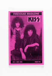 KISS Fanzine - KISS Firehouse Magazine, #35 purple, Bruce and Gene