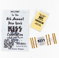 KISS Expo Program - NY KISS Convention #8, (signed by Peter)