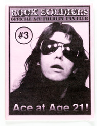 Ace Frehley Official Rock Soldiers  Fan Club Newsletter #3