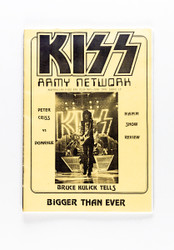 KISS Fanzine - KISS Army Network #17, yellow 1991