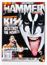 KISS Magazine - Metal Hammer 2009, Gene