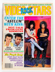 KISS Magazine - Video Rock Stars 1985, (no poster)