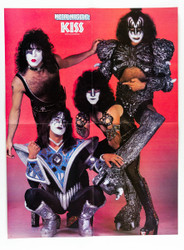 KISS Poster - Metal Muscle Magazine, 4 page Unmasked Group