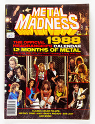 KISS Calendar - Metal Madness 1988