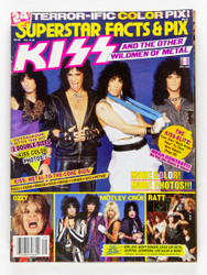 KISS Magazine - Superstar Facts & Pix 1986, (8/10)