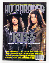 KISS Magazine - Hit Parader, August 1992, (no mini-mag)