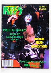 KISS Magazine - KISS This Fanzine 1995, Vol 2 No 2, Paul
