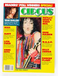 KISS Magazine - Circus February 1985