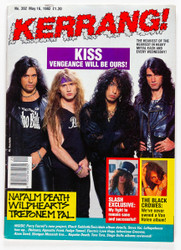 KISS Magazine - Kerrang, May 1992