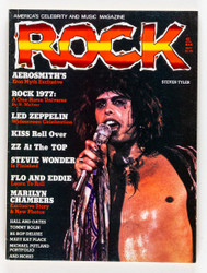 KISS Magazine - ROCK, March 1977, Aerosmith