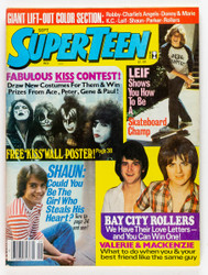 KISS Magazine - Superteen, September 1977