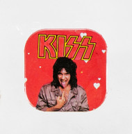 KISS Square Button - Gene Valentine