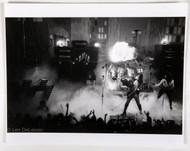 "KISS Photo - by Len DeLessio, Gene Breathing Fire, 1975, (8x10"" print)"