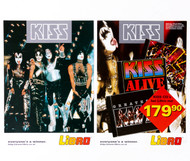KISS Flier - German Libro CD ad, 1997